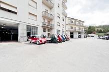 Piazzale antistante officina Piaggio, Piaggio veicoli commerciali