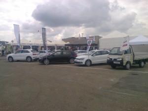 esposizione audi volkswagen Piaggio veicoli commerciali al Madonnino/Grosseto