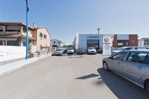Esposizione esterna Audi Volkswagen Autotre a Grosseto